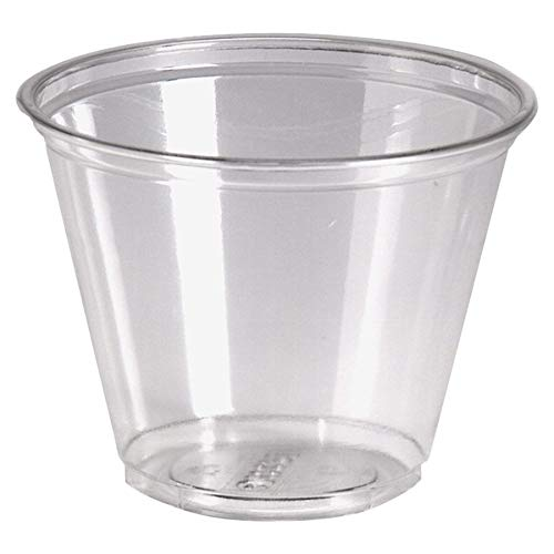- Dixie CP9APK Cold Drink Cups 9 oz. 50/PK Clear Plastic