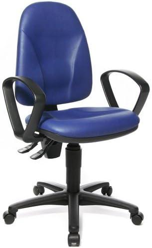 Topstar BürostuhlDrehstuhl California 20 HD Softex blau
