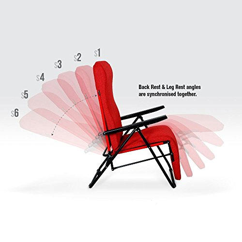 Furlay Recliner Chair Cloudy Apple Red