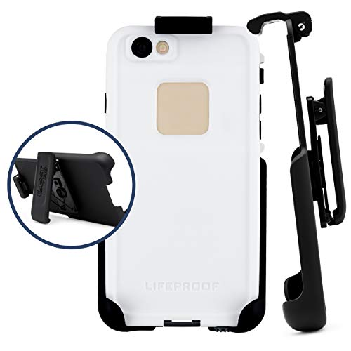 Belt Clip Holster Compatible with LifeProof FRE Case iPhone 6 / iPhone 6s 4.7 | Easy Fit | Slim Design | Built in Kickstand [case not Included]