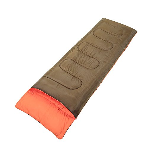 Dudodoo Outdoor single sleeping bag - Spring and Autumn Preferred - Camping Equipment - Comfortable - Skin Friendly - Detachable Design - 1.5KG by Dudodoo
