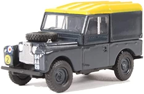 Oxford Diecast 76LAN188021 Land Rover Serie 1 88 Tapa Dura RAF