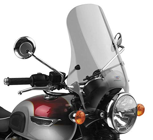 - National Cycle N25001 Street Shield for 7/8-1in. Handlebars - 17in. - Tint