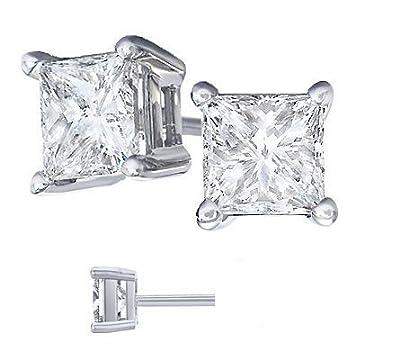 Body-Fashion-Surgical-Steel-Square-Basket-Set-Crystal-Diamond-Unisex-Men-s-Stud-Earrings-8mm