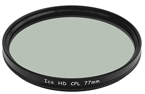 ICE HD 77mm CPL 77 MC Filter Circular Polarizer Hard Coated EZ Clean 16 Layer Multi-Coated