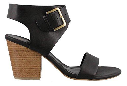 Womens Sandals Studio Black Heels (STUDIO ISOLA Women's, Lacina High Heel Sandals Black 6 M)