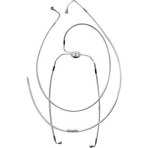 マグナム MAGNUM フロント ブレーキライン ロワー FLH(デュアルディスク) クローム 1741-1859 37012   B01M106167