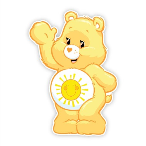 Walls 360 Peel & Stick Fabric Wall Decals: Care Bears Funshi