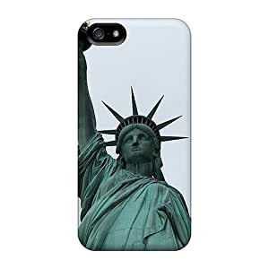 Living Poet Statue Of Liberty Durable Iphone 5/5s Tpu Flexible Soft Case
