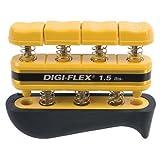 Cando Digi-Flex hand exerciser - Yellow, x-light - Finger (1.5 lbs.) / hand (5.0 lbs.)