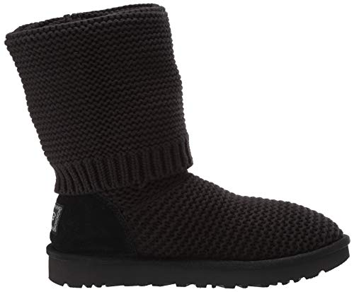 Pearl 2019 Cardy Charcoal Ugg Stiefel Knit Black 1HAwndq8