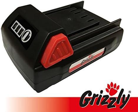 Grizzly Batería 18V, 1,5Ah para Cortasetos CH 1800, Batería cortabordes CT 1800