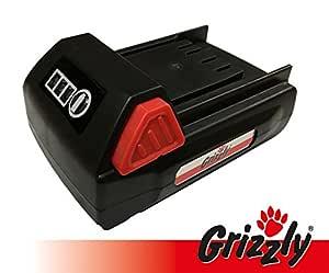 Grizzly batería 18 V, 1,5 Ah para podadora inalámbrica AKS 1820 T ...