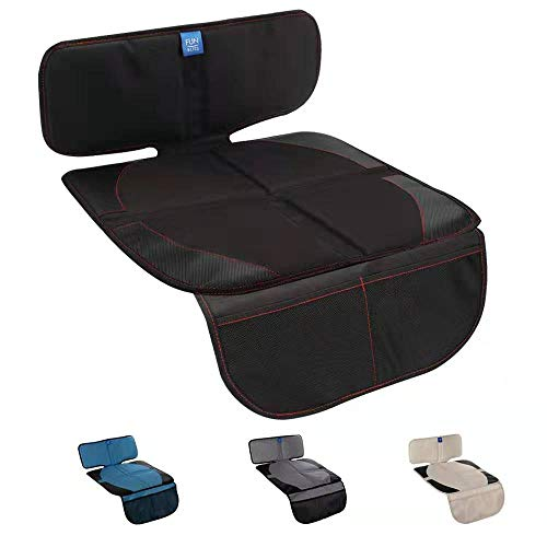 Lowest Price! Funbliss Car Seat Protector for Baby Child Car Seats - Auto Seat Cover Mat for Under C...