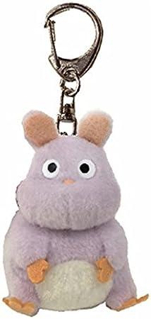 Amazon Com Studio Ghibli Spirited Away Turbo Mouse Soft Plush Toy Key Ring Toys Games