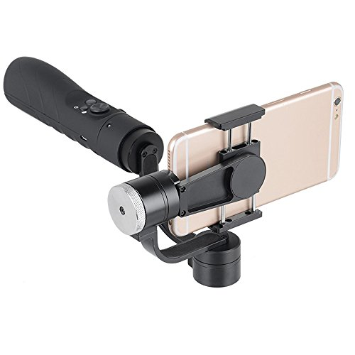 V3 Portable 3-Axis Gimbal Stabilizer for 3.5~6.1 Inches Cellphone - Black by OLSUS (Image #3)