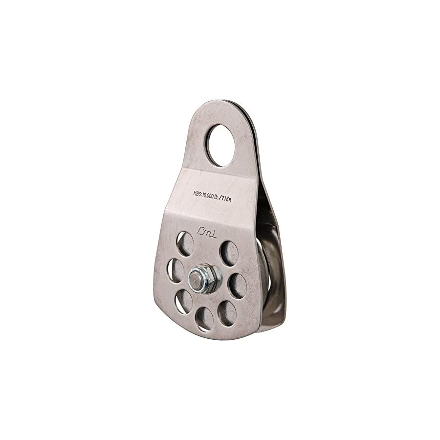 """CMI 3"""" Single Pulley with Aluminum Sheave and Stainless Steel Sideplates RP105"""