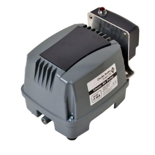 Image of Pet Supplies Blue Diamond ETA 60 Septic or Pond Linear Diaphragm Air Pump with built in Alarm