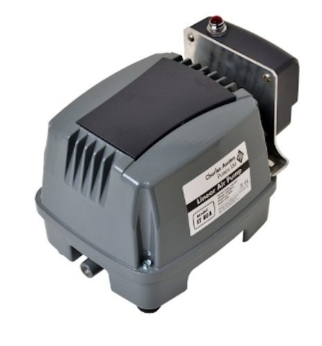 Blue Diamond ETA 80 Septic or Pond Linear Diaphragm Air Pump with built in Alarm ()