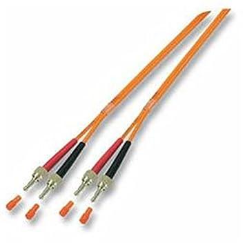 Alcasa FSMA - FSMA 3m M/M Cable de Fibra optica OM1 Naranja ...