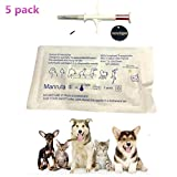 5 Pack Pet Microchip 134.2Khz Animal ID Chips