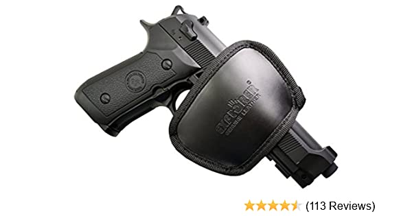 Explorer Best Leather Belt Carry Comfortable Chest Waistband Concealed  Tactical Draw Pocket Gun Holsters for 1911 Concealment Pistol Desantis  Fobus