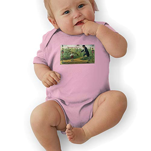 MDClothI Babys George Washington I Can't Tell A Lie Classic Comfortable Short Sleeve Jumpsuit Outfits 2T -