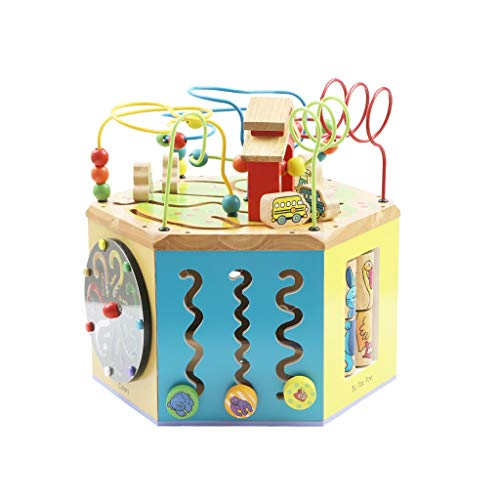 LIUFS-TOY Children's Beaded Treasure Chest Puzzle Early Learning Hexahedron Toy Gift ( Size : M ) by LIUFS-TOY (Image #7)