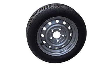 Rueda completa reforzado Uni Trailer 195/50 R13 C 104/101 N 5,5jx13 LK 5 x 112 para automóviles de colgante: Amazon.es: Coche y moto