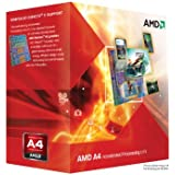 AMD A4-3300 APU with AMD Radeon 6410 HD Graphics 2.5GHz Socket FM1 65W Dual-Core Processor - Retail AD3300OJHXBOX