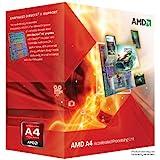 AMD A4-3300 APU with AMD Radeon 6410 HD Graphics 2.5GHz Socket FM1 65W Dual-Core Processor - Retail (AD3300OJGXBOX)