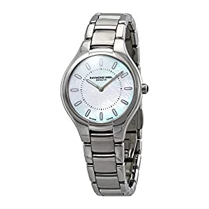Reloj de Cuarzo Raymond Weil Noemia Ladies, Madre Perla, 32mm, 5132-ST-97001 11