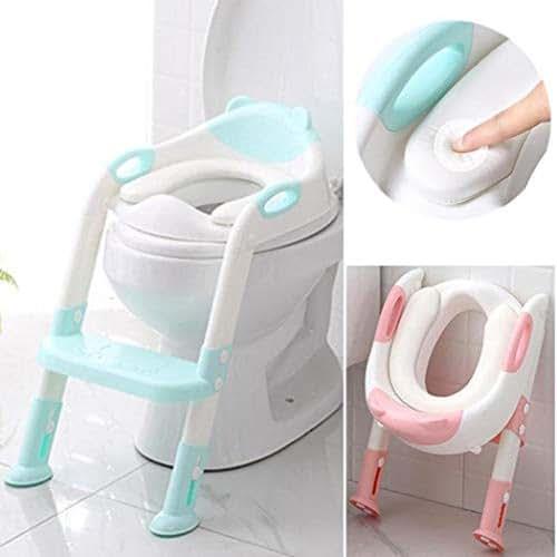 Benlet Children Toilet Seat Baby Toilet Ladder Folding Toilet Potties & Seats