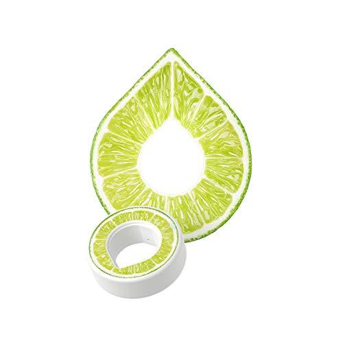 air up Duft-Pods für air up Trinkflasche - 6er Pack für insgesamt 30 Liter Geschmack in den Geschmacksrichtungen Limette, Zitrone-Hopfen, Orange-Maracuja, Apfel und Pfirsich (Limette)