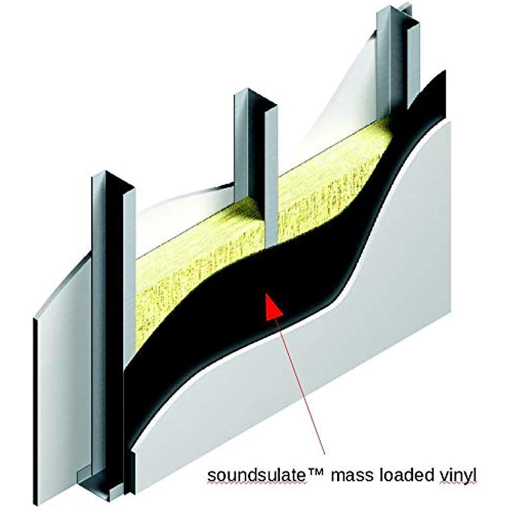 Noise Grabber 1lb Mass Loaded Vinyl STC 26 MLV 4/'x15/' Roll 60 Sq Ft