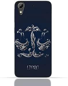 HTC Desire 826 TPU Silicone Case with Zodiac-Sign-Libra Design.