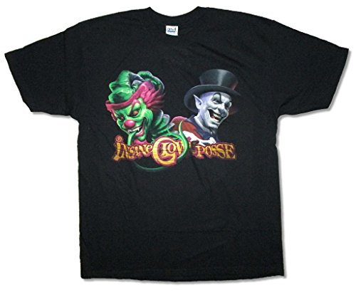 Insane Clown Posse Joker Cards - Real Swag Inc Insane Clown Posse Clown & Ringmaster Juggalo Black T Shirt ICP (L)