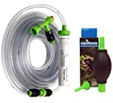 Python 50 ft. No Spill Clean & Fill and Squeeze Stressless Siphon Starter Bundle