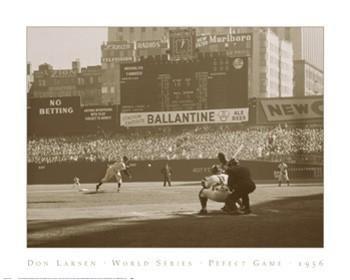 Don Larson - Don Larsen, World Series Perfect Game, 1956