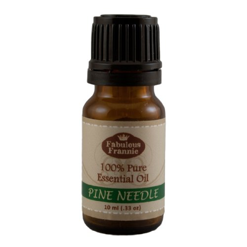 Pine Needle 100% Pure, Undiluted Essential Oil Therapeutic Grade - 10 ml. Great for Aromatherapy!