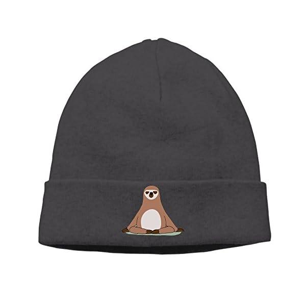 Snap Sloths Beanie Knit Cap Dancing -