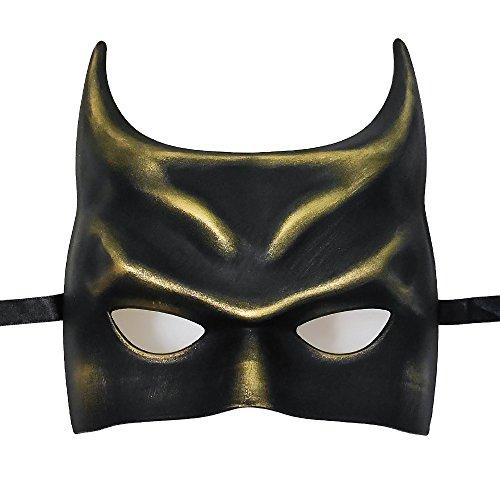 Gold Bat Mask (BeyondMasquerade Batman Mask Masquerade (Black/Gold))