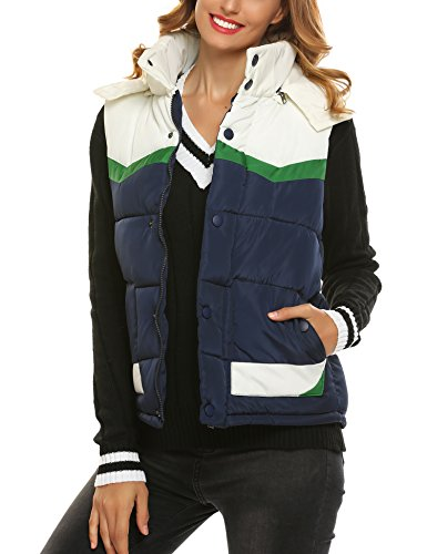Quilted Puffy Vest - 6