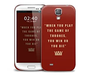 when you play got Samsung Galaxy S4 GS4 protective phone case
