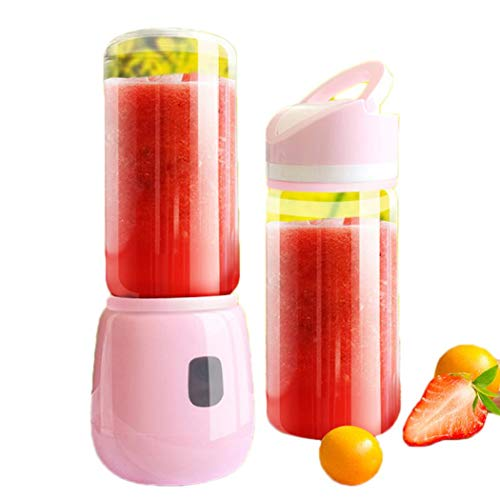 Personal Smoothie Blender, Nurrat Cordless Portable Blender Rechargeable USB Juicer Mini Blender Small Blender -Shakes,Smoothies,Baby Food - Outdoor Travel Home Office, BPA Free 15oz