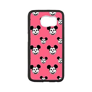 Plastic Cases Samsung Galaxy S6 Cell Phone Case Black Minnie Mouse Yqgaj Generic Design Back Case Cover