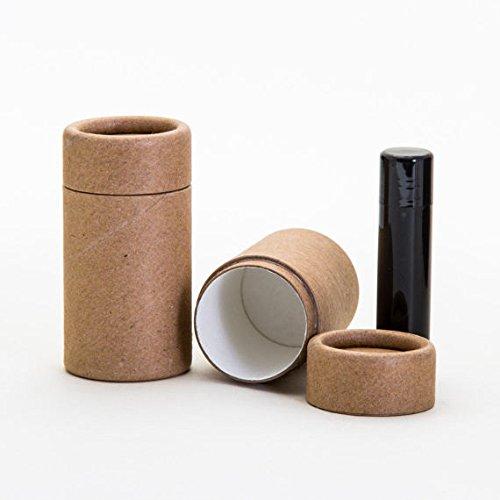 Kraft Paper Tubes (40mL / 1.35oz Kraft Paperboard Deodorant/Lip Balm/Cosmetic Tubes x6)