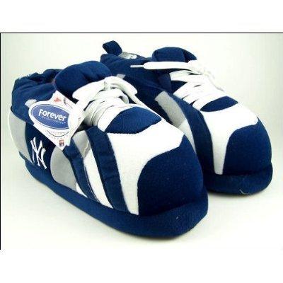 Los Angeles Dodgers Mlb Slippers (New York Yankees Sneaker Slippers-Men's Blue SML)
