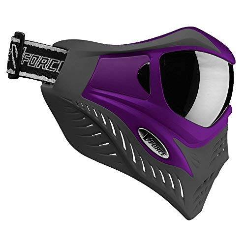- V-Force Grill Thermal Paintball Mask / Goggle - Special Color - Purple on Grey