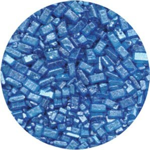 Sugar Crystals Decorating (CK Products  4 Ounce  Sugar Crystals Pearlized Bottle, Blue)